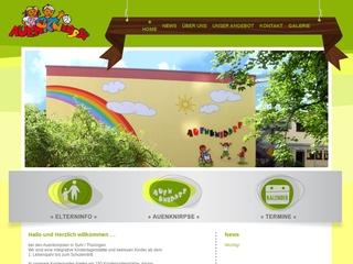 Vorschaubild der Webseite von Integrative Kindertagesstätte Auenknirpse