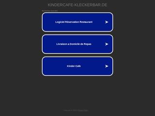 Vorschaubild der Webseite Kindercafe Kleckerbar