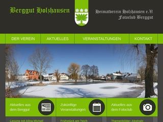 Vorschaubild der Webseite von Heimatverein Holzhausen e.V. Berggut Zuckelhausen