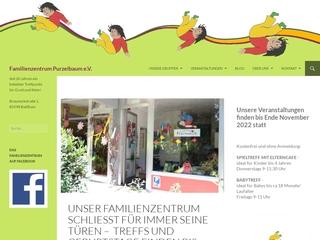 Vorschaubild der Webseite von Familienzentrum Purzelbaum e.V.