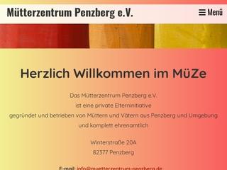 Vorschaubild der Webseite von Mütterzentrum Penzberg e.V.