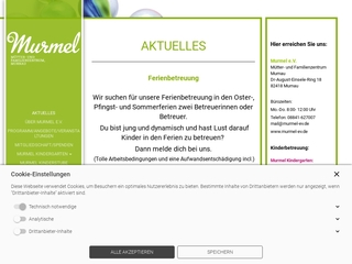 Vorschaubild der Webseite von Murmel-Murnauer Mütterinitiative e.V.