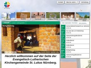 Vorschaubild der Webseite von Kindergarten St. Lukas