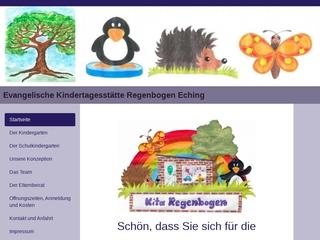 Vorschaubild der Webseite von Ev. Kindergarten Regenbogen