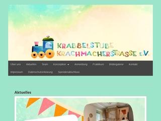 Vorschaubild der Webseite von Kinderkrippe