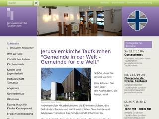 Vorschaubild der Webseite von Ev. Kindergarten Kinderplanet