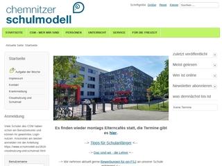 Vorschaubild der Webseite von Gemeinschaftsschule