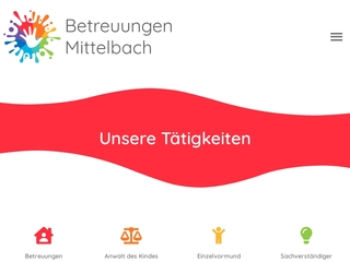 Vorschaubild der Webseite von Betreuungen Mittelbach