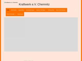 Vorschaubild der Webseite von Kraftwerk e.V.