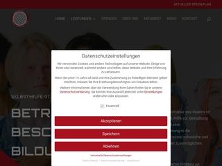 Vorschaubild der Webseite von Selbsthilfe 91 e.V.