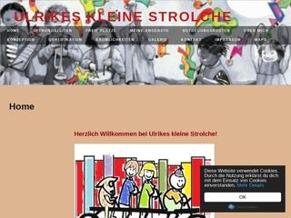 Vorschaubild der Webseite von Kindertagespflege Ulrikes kleine Strolche