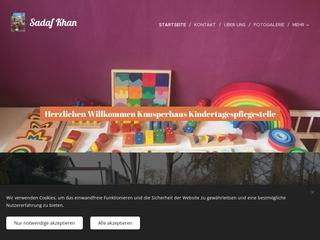 Vorschaubild der Webseite von Knusperhaus Kindertagespflege
