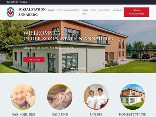 Vorschaubild der Webseite von Sozialstation Annaberg Buchholz