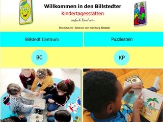 Vorschaubild der Webseite Kindertagesstätte Billstedt Zentrum