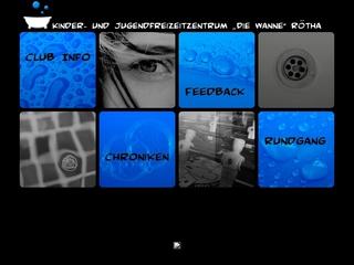 Vorschaubild der Webseite von Freizeitclub Die Wanne
