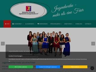 Vorschaubild der Webseite von Sächsischer Verband für Jugendarbeit und Jugendweihe e.V. Großregion Zwickau