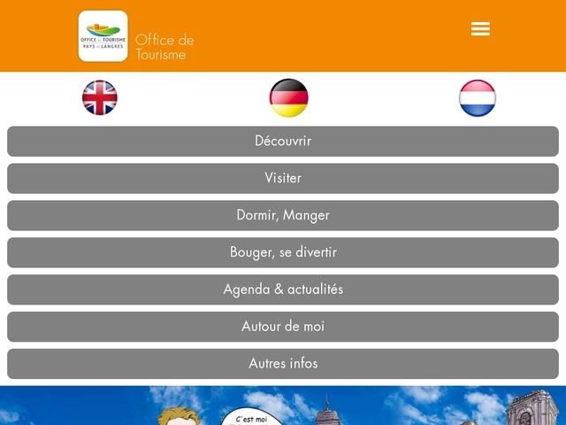 Office de tourisme du Pays de Langres