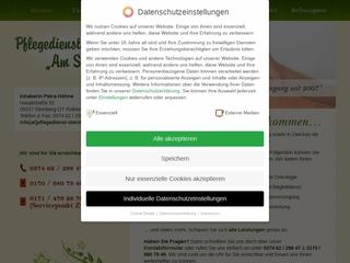 Vorschaubild der Webseite von Fahrdienst des Pflegedienstes Am Steinberg
