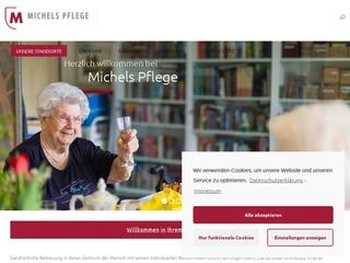 Vorschaubild der Webseite von Pflegeeinrichtung Haus Muldental