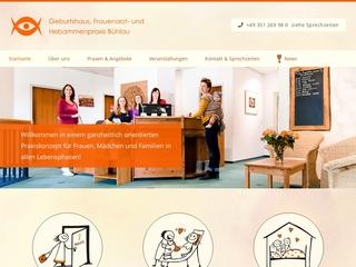 Vorschaubild der Webseite von Hebammenpraxis Bühlau