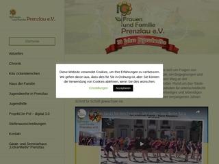 Vorschaubild der Webseite von Kindertagesstätte Uckersternchen
