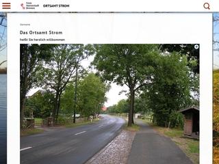 Vorschaubild der Webseite von Rad- und Sportverein Strom von 1906 e.V.