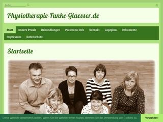 Vorschaubild der Webseite Praxis für Physiotherapie