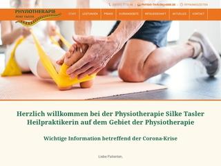 Vorschaubild der Webseite Physiotherapie Silke Tasler