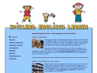 Vorschaubild der Webseite von Spielend Englisch lernen