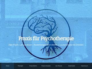 Vorschaubild der Webseite von Psychotherapeutische Praxis