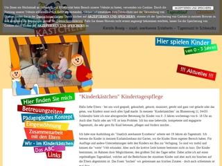 Vorschaubild der Webseite von Kindertagespflege Kinderkästchen