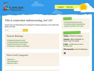Vorschaubild der Webseite von Kindertagespflege KUNTERBUNT