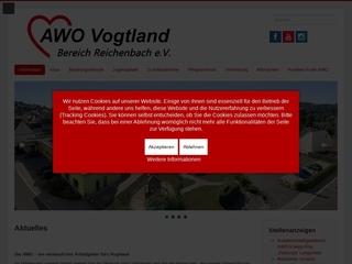 Vorschaubild der Webseite von Pflegezentrum Wohnen am Park