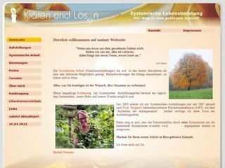 Vorschaubild der Webseite Systemische Aufstellungen und Familienaufstellungen nach Prof.  Franz Ruppert