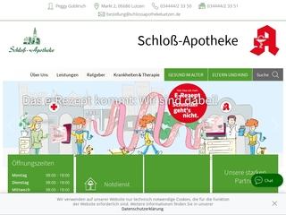 Vorschaubild der Webseite Schloß-Apotheke