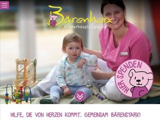 Vorschaubild der Webseite von Kinderhospiz Bärenherz Leipzig e.V.
