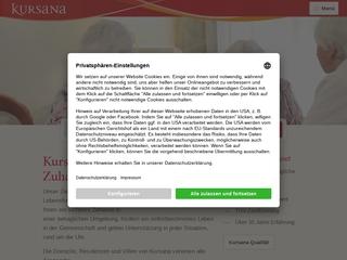 Vorschaubild der Webseite von Kursana Domizil