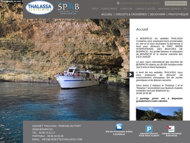 Vedettes thalassa Bonifacio