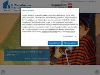 Vorschaubild der Webseite von St. Theresienhaus - Kinder und Jugendhilfe - Caritasverband für die Diözese Hildesheim e.V.