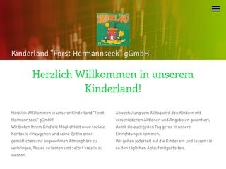 Vorschaubild der Webseite Kindertagesstätte Ziegelroda