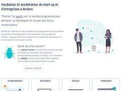 Incubateur et accélérateur d'entreprises à Amiens