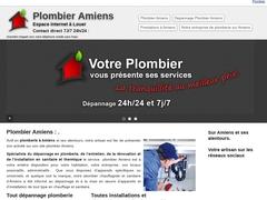 Plombier à Amiens