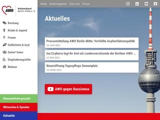 Vorschaubild der Webseite von AWO Kindertagesstätte Wassertropfen