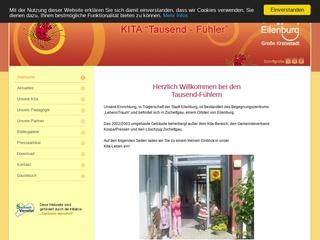 Vorschaubild der Webseite Kindertagesstätte Tausend-Fühler