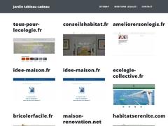 Bernard Jardin Tableaux Cadeaux