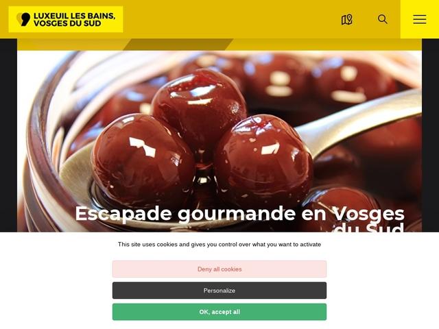 Luxeuil Vosges du Sud