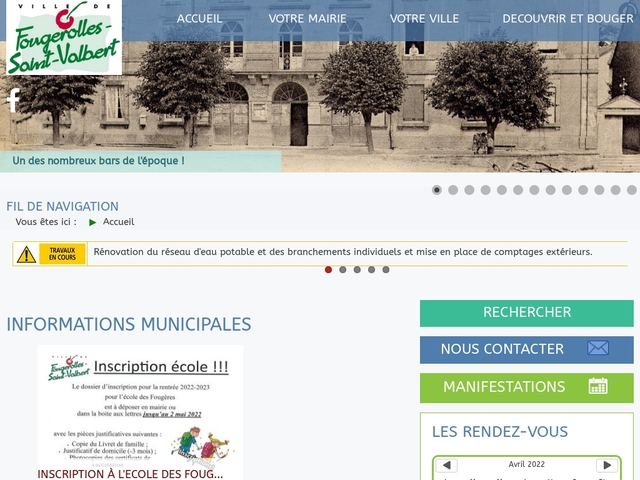 Mairie Fougerolles-Saint-Valbert