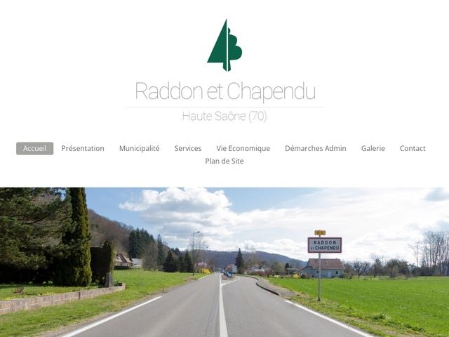 Raddon et Chapendu