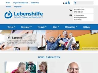 Vorschaubild der Webseite von Kindertagesstätte im Lebenshilfehaus