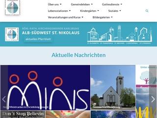 Vorschaubild der Webseite von Katholischer Kindergarten St. Klara